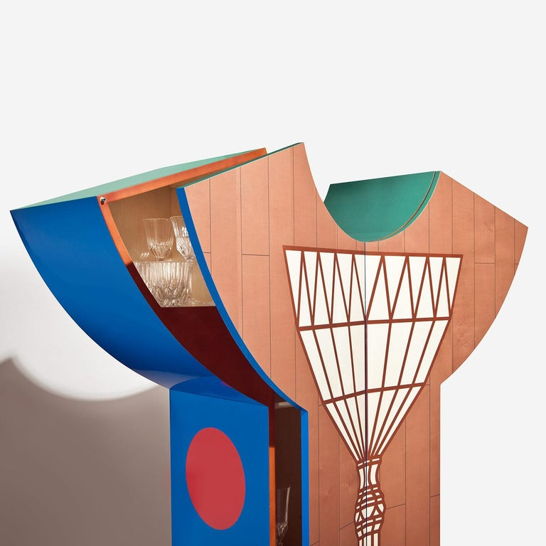 Alessandro Mendini Limited Edition Cristallo Cupboard For Sale 3