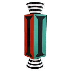 Alessandro Mendini One Door with Five Shelves Italian TOTEM