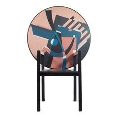 Alessandro Mendini Signed 'Zabro' Metamorphic Chair-Table for Zanotta, 1984