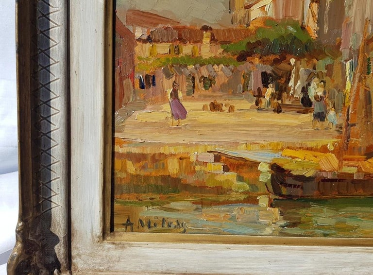 Alessandro Milesi (Venice 1856 - Venice 1945) -