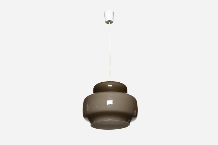 Mid-Century Modern Alessandro Pianon for Vistosi Ceiling Pendant, Attributed For Sale