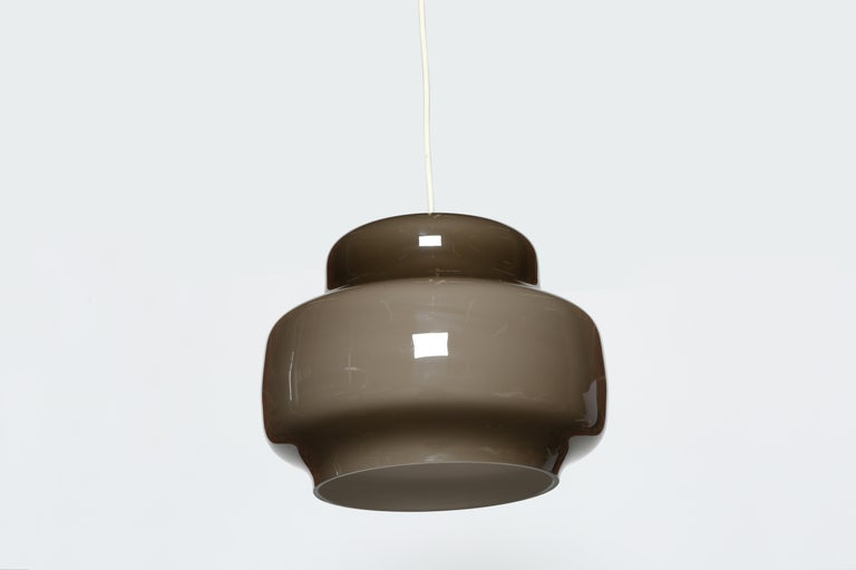 Alessandro Pianon for Vistosi Ceiling Pendant, Attributed In Good Condition For Sale In New York, NY