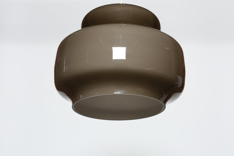 Late 20th Century Alessandro Pianon for Vistosi Ceiling Pendant, Attributed For Sale