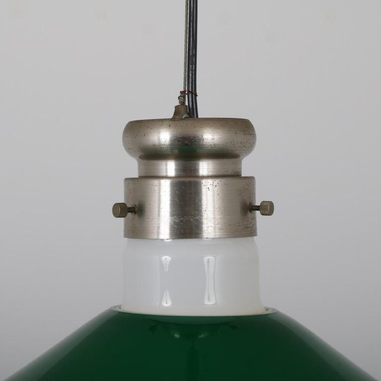20th Century Alessandro Pianon Murano Glass Hanging Lamp for Vistosi, Italy, 1970 For Sale