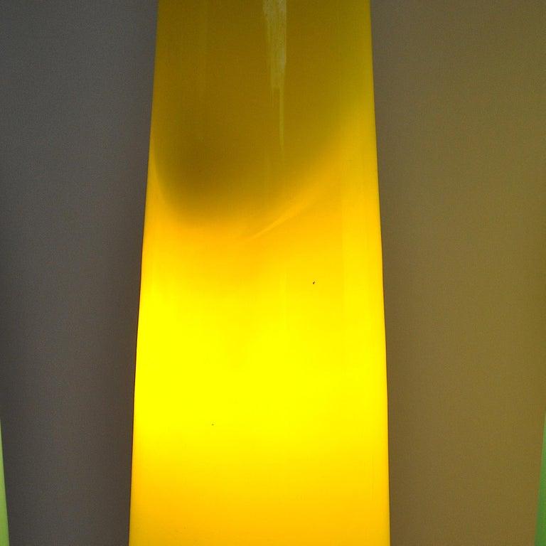 Alessandro Pianon Vistosi Chandelier in Murano Colored Glass, 60's For Sale 10