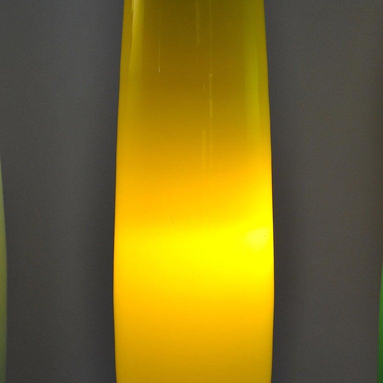 Alessandro Pianon Vistosi Chandelier in Murano Colored Glass, 60's For Sale 11
