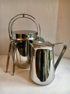 Alessi Ice Bucket Tongs and Pitcher