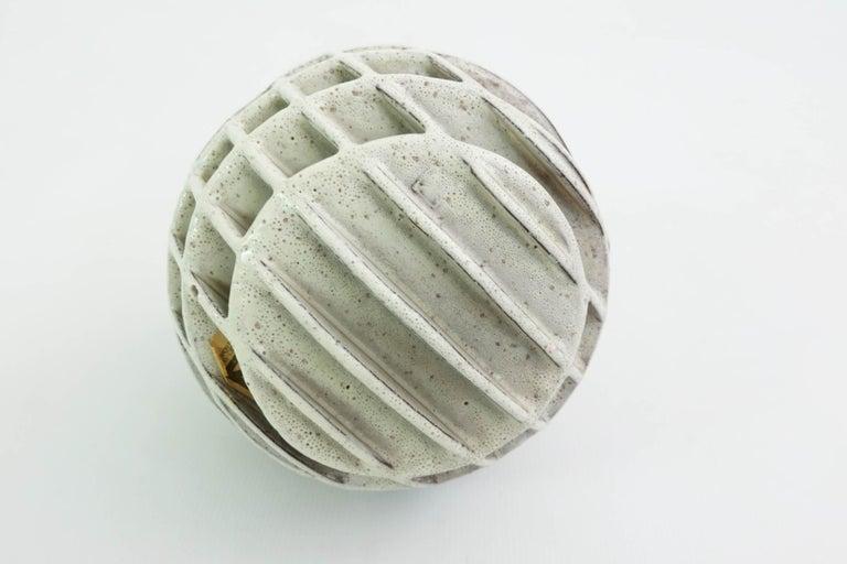 Italian Alessio Tasca Sphere Sculpture Ikebana Vase For Sale