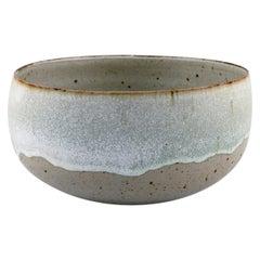 Alev Ebüzziya Siesbye for Royal Copenhagen, Stoneware Circular Bowl, 1960s