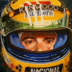 Ayrton Senna. original painting