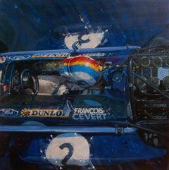 François Cevert 1970 March-Tyrrell 701 - BALAGUER - ORIGINAL OIL CANVAS - 2019
