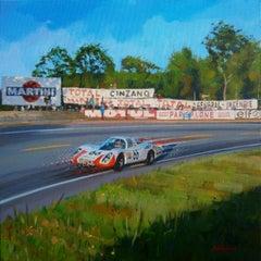 Hans-Heinrich Steinemann & Dieter Spoerry · Le Mans 1968 · Porsche 907LH