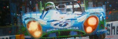 Henri Pescarolo · Le Mans 1972 · Matra-Simca MS670. original painting