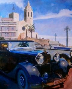 Hispano Suiza. original painting