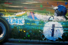 Jim Clark. 1965. Lotus 33. Original Painting