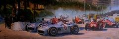 Nº 240 Sortie à Monaco 1955  acrylic painting
