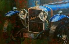 Nº 251 Hispano-Suiza  acrylic painting
