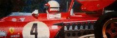 Nº 6 Clay Regazzoni 1970 Ferrari 312B  acrylic painting