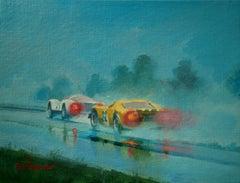 Porsche 906. Ford DT40. Spa 1968, Original painting