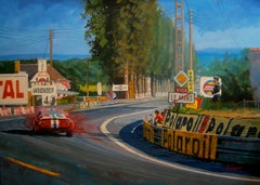 Sam Posey & Milt Minter Le Mans 1973 Ferrari 365 GTB/4. original painting