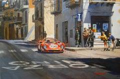 Targa Florio 1965 Ferrari 275 P2 acrylic painting