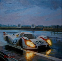 Vic Elford &Kurt Ahrens. Lemans 1970. Porsche 917 L. original painting