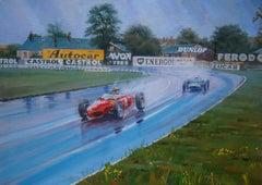 Wolfgang von Trips (Ferrari 156 F1) & Stirling Moss (Lotus-Climax 18-21)