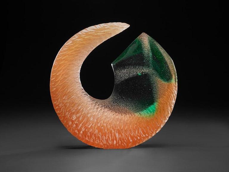 Alex Bernstein Abstract Sculpture - Amber Spring