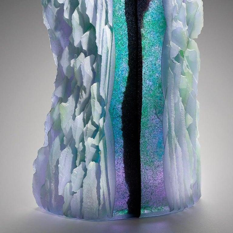 Twist - Gray Abstract Sculpture by Alex Bernstein