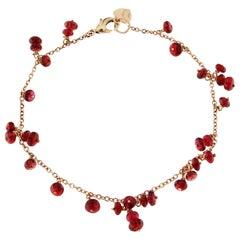 Alex Jona Burmese Spinel 18 Karat Rose Gold Bracelet