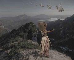 Fly Away Barbies Series by Alex Khomski Digital Print on Canvas