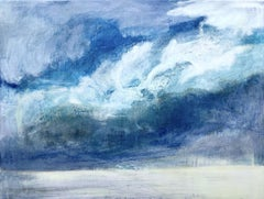 Navigating Uncertainty II, Alex Mcintyre, Original Landscape Painting, Cloud Art