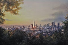 One tree Hill (Honor Oak Park), Alex Rennie, Oil on Linen, Original painting