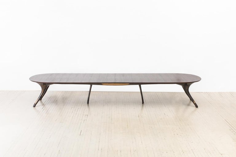American Alex Roskin, Monumental Dining Table, USA For Sale