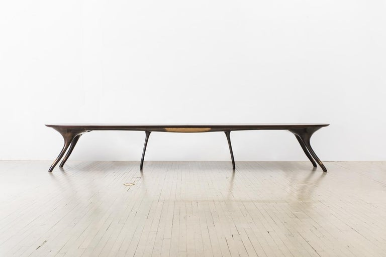 Alex Roskin, Monumental Dining Table, USA In New Condition For Sale In New York, NY
