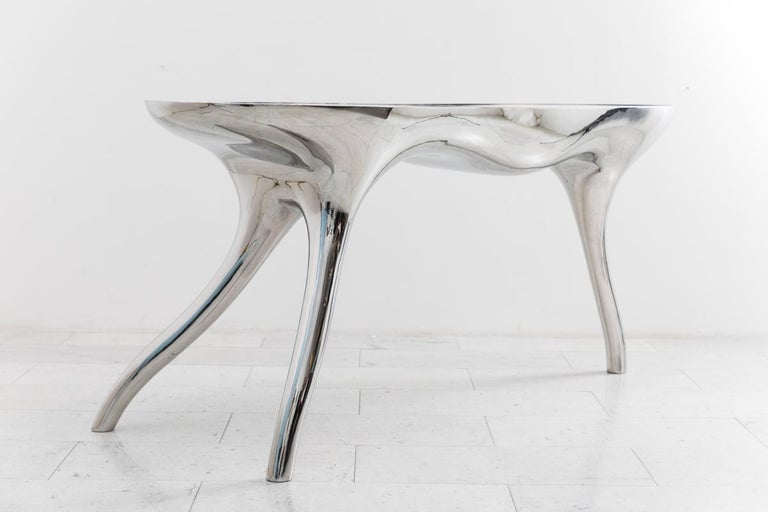 Alex Roskin, Trois Jambes Console Table II, USA In New Condition For Sale In New York, NY
