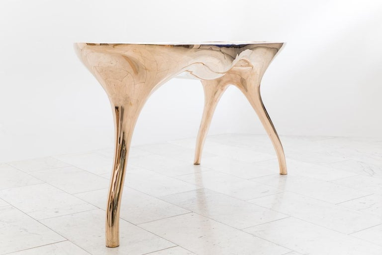Alex Roskin, Trois Jambes Console Table, USA For Sale 3