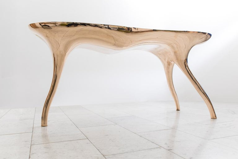 Alex Roskin, Trois Jambes Console Table, USA For Sale 1