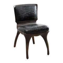 Alex Roskin, Tusk Chair in Aluminum with Bronze Plating, USA