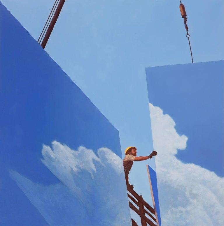 Alex Roulette Landscape Painting - Billboard