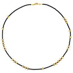 """Alex Sepkus Rose Gold and Palladium """"Nautilus"""" Necklace"""