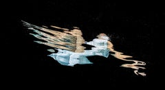 Brushstroke - underwater photograph - from series REFLECTIONS - print on paper