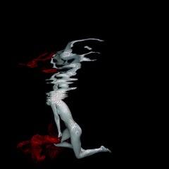 Carmen - underwater nude photograph - print on paper