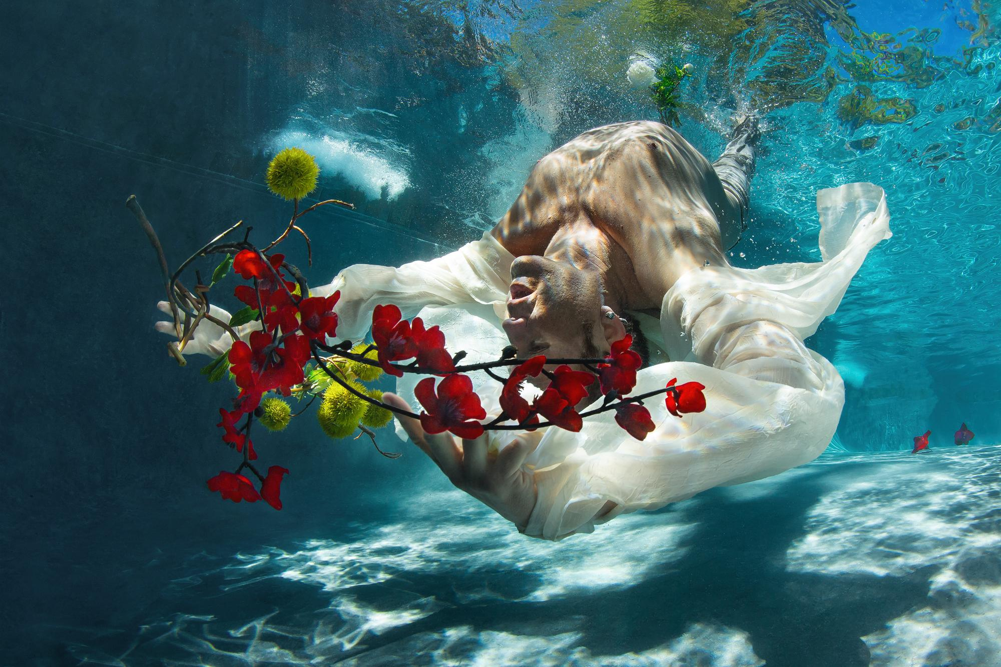 Cold Song  - underwater photograph - print on aluminum