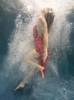 """""""Coming Back"""" Underwater Photography 36"""" x 26"""" inch Edition 2/12 by Alex Sher"""