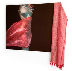 Indian Scarf  - underwater photograph - print on aluminum