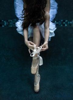 Pointe - underwater photograph - print on aluminum