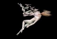 Porcelain III  - underwater nude photograph - print on paper