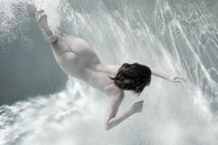 Sweet and Spicy - underwater nude photograph - print on paper
