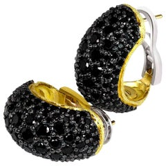 Alex Soldier Spinel Gold Earrings One of a Kind